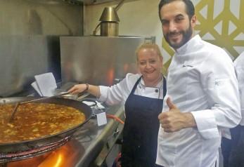 Nuestra cocinera con Mario Sandoval